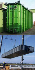 emkosti prjamougolnye rvs rgs 3 150x300 Резервуары и емкости прямоугольные (РВС , РГС)