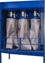 meshochnye filtry dlja obezvozhivanija osadka 2 Мешочные фильтры для обезвоживания осадка