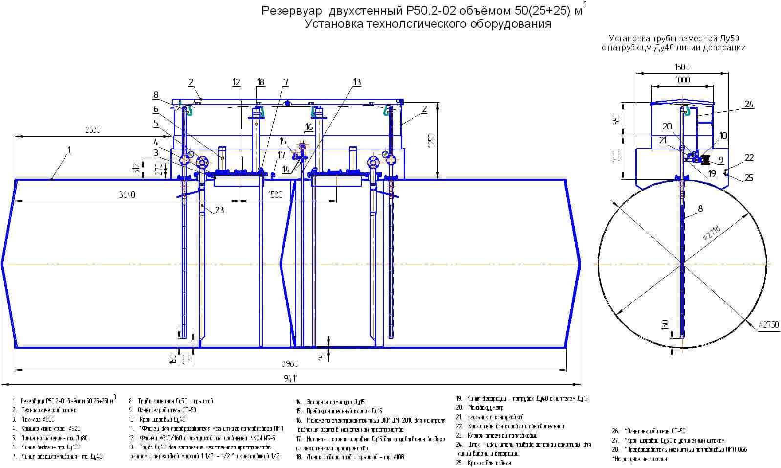 rezervuary i emkosti cilindricheskie rvs rgs 6 2 Резервуары и емкости цилиндрические (РВС , РГС)