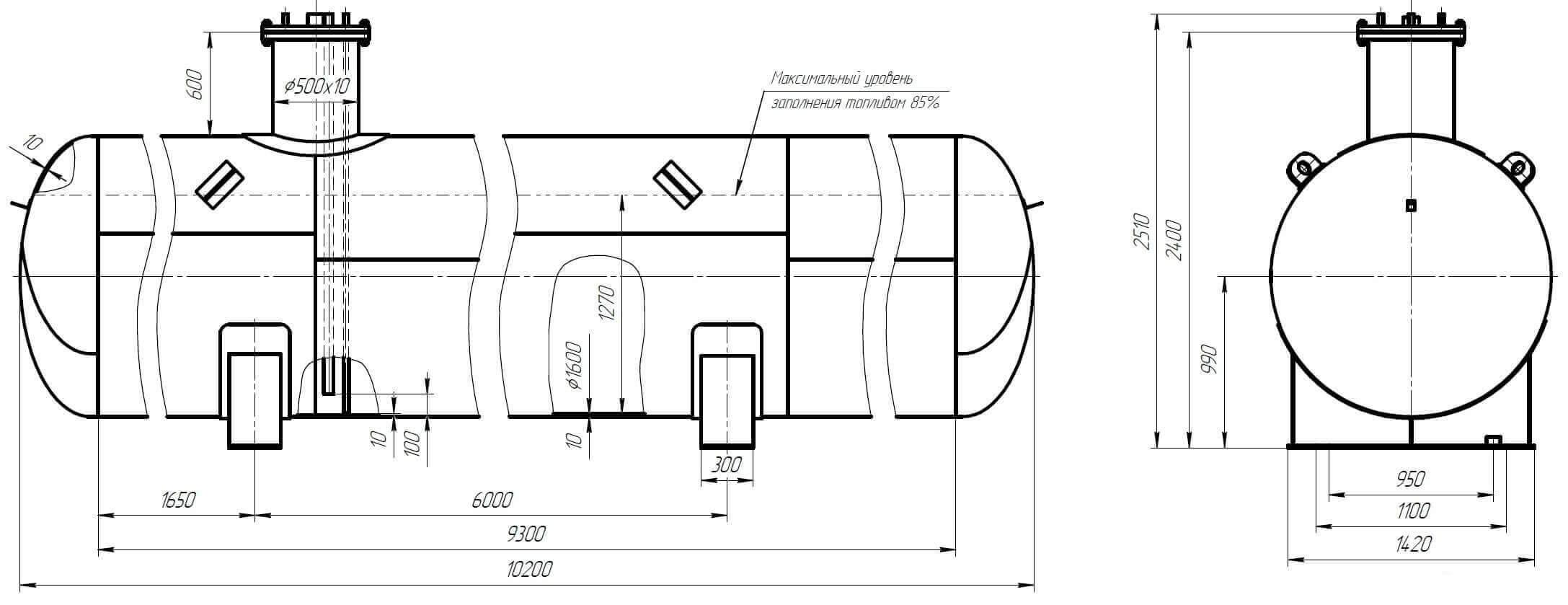 rezervuary i emkosti stekloplastik 9 Резервуары и емкости (стеклопластик)
