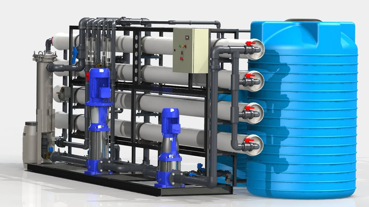 ustanovki filtracii i predpodgotovki 1 Озонаторы и хлотаторы
