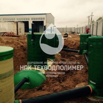 Оборудование для очистки ливневых сточных вод Комбинированный песко-нефтеуловитель.