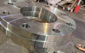 Произведен статический смеситель TOBOL-100-H из нержавеющей стали AISI 316.