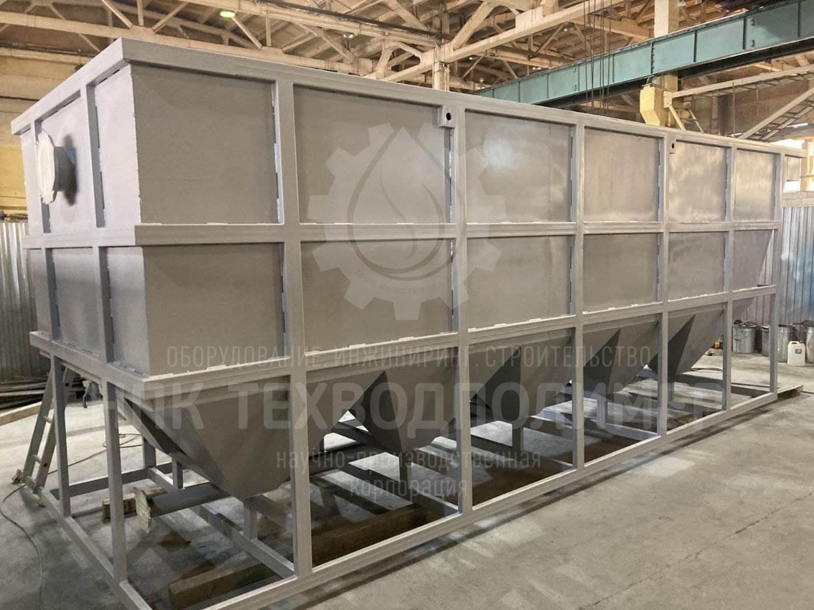 Отгружен тонкослойный отстойник марки LIMAN-ОТМ производительностью 30 м3/час.
